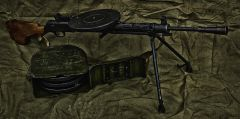 DP-27 machine gun