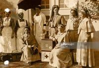1. Weltkrieg, Mobilmachung - Schwestern der Schwesternschaft Paulinenhaus aus Berlin.jpg