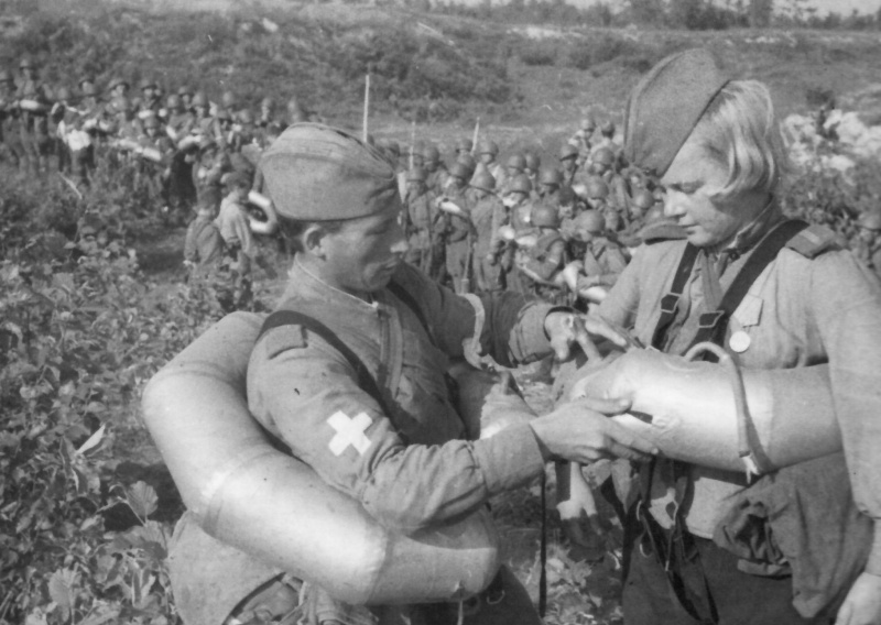 поплавок полянского применяли во время войны для переправы бойцов