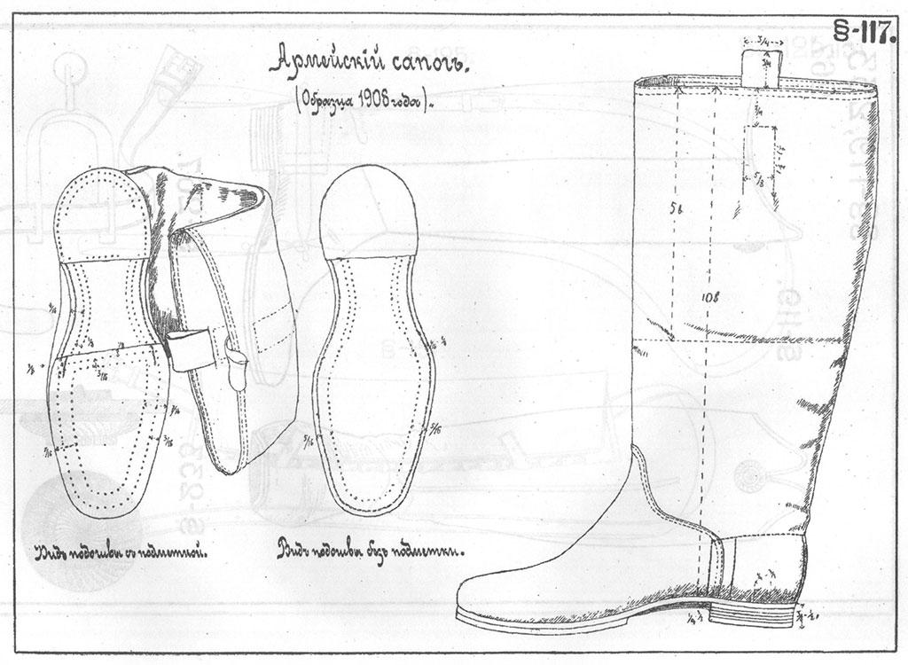 Обувь своими руками чертежи