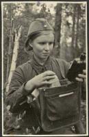 Медсестра т. М.И. Никифорова. Москва. 1942. Струнников Сергей Николаевич.jpg
