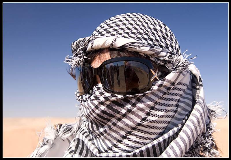Что одета на голове у араба