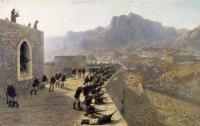 Лев Феликсович Лагорио. Отбитие штурма крепости Баязет 8 июня 1877 года. 1891.jpg