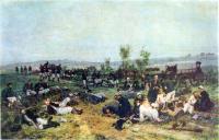 Перевязочный пункт у деревни Иван-Чифлик. 1878.jpg
