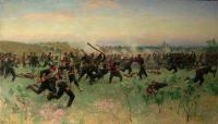 Штыковой бой полков русской гвардии с турецкой пехотой на Систовских высотах 14 июня 1877 года.jpg