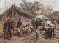 Брестовец. Допрос пленных турок, 1878.jpg