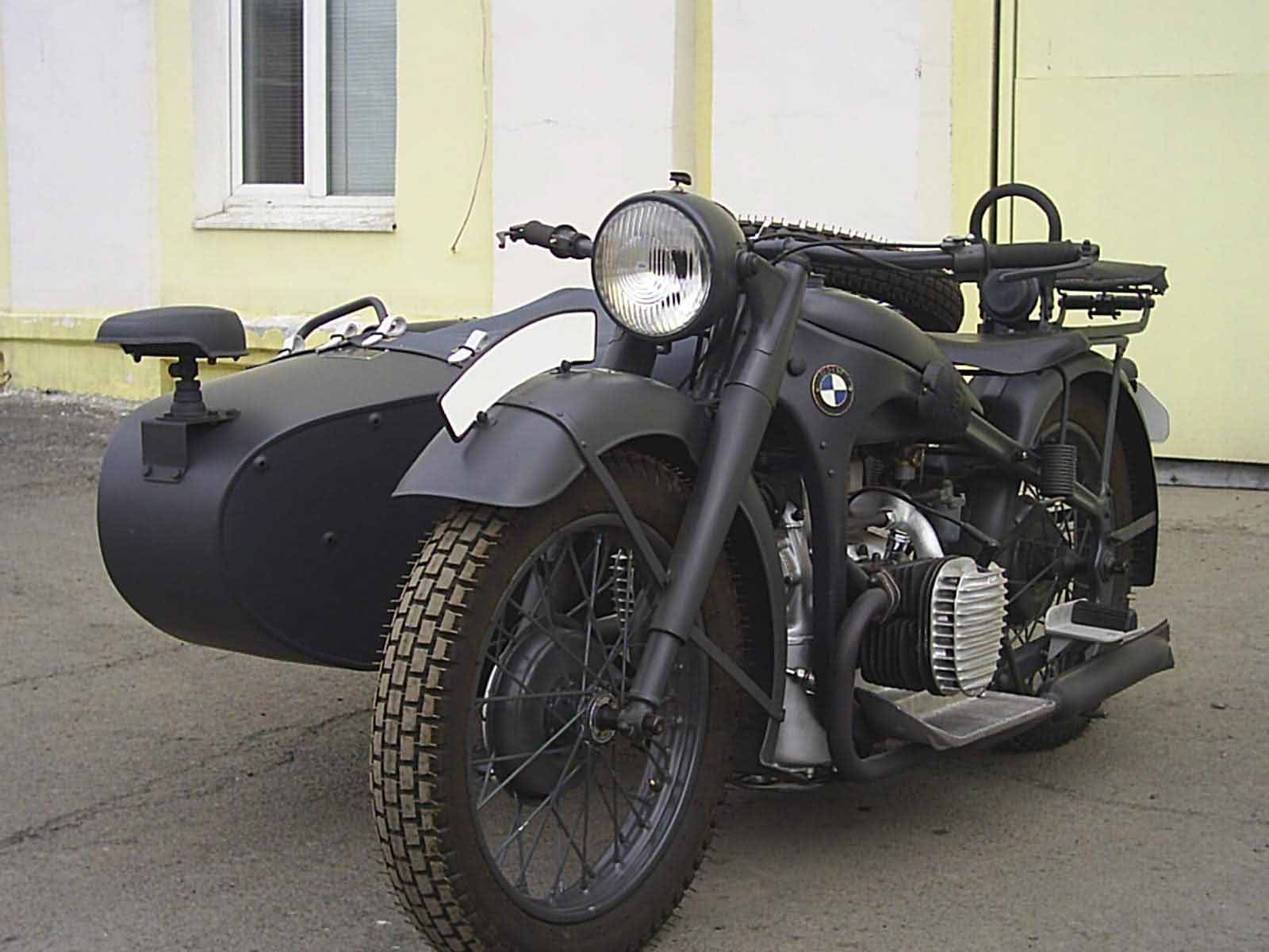 Мотоциклы БМВ военных лет #10